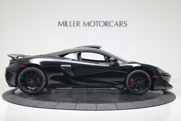 New 2019 McLaren 600LT for sale $305,639 at Bentley Greenwich in Greenwich CT 06830 8