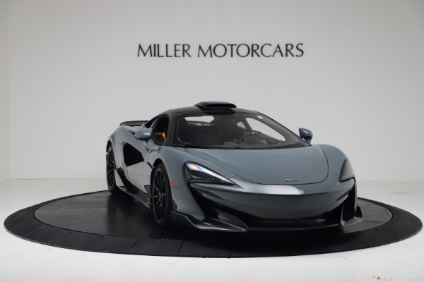 New 2019 McLaren 600LT Coupe for sale $311,619 at Bentley Greenwich in Greenwich CT 06830 10
