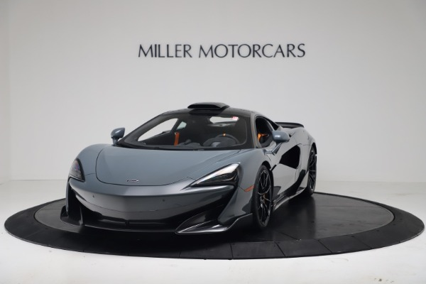 New 2019 McLaren 600LT Coupe for sale $311,619 at Bentley Greenwich in Greenwich CT 06830 13