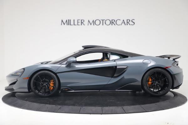 New 2019 McLaren 600LT for sale $311,619 at Bentley Greenwich in Greenwich CT 06830 2