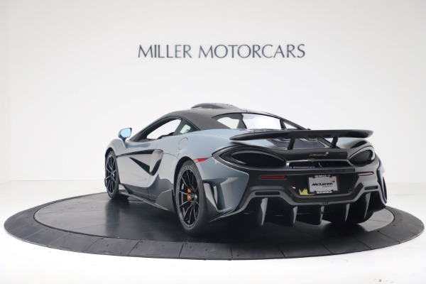New 2019 McLaren 600LT Coupe for sale $311,619 at Bentley Greenwich in Greenwich CT 06830 4
