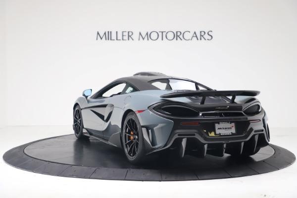 New 2019 McLaren 600LT for sale $311,619 at Bentley Greenwich in Greenwich CT 06830 4