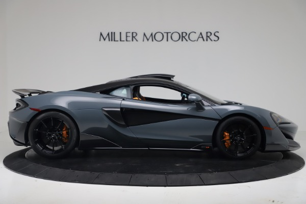 New 2019 McLaren 600LT Coupe for sale $311,619 at Bentley Greenwich in Greenwich CT 06830 8