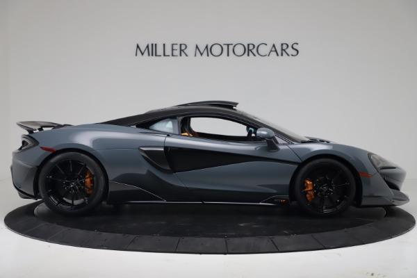 New 2019 McLaren 600LT for sale $311,619 at Bentley Greenwich in Greenwich CT 06830 8