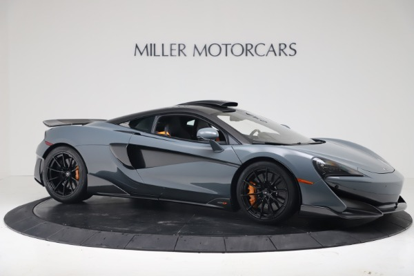 New 2019 McLaren 600LT Coupe for sale $311,619 at Bentley Greenwich in Greenwich CT 06830 9