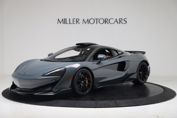 New 2019 McLaren 600LT Coupe for sale $311,619 at Bentley Greenwich in Greenwich CT 06830 1