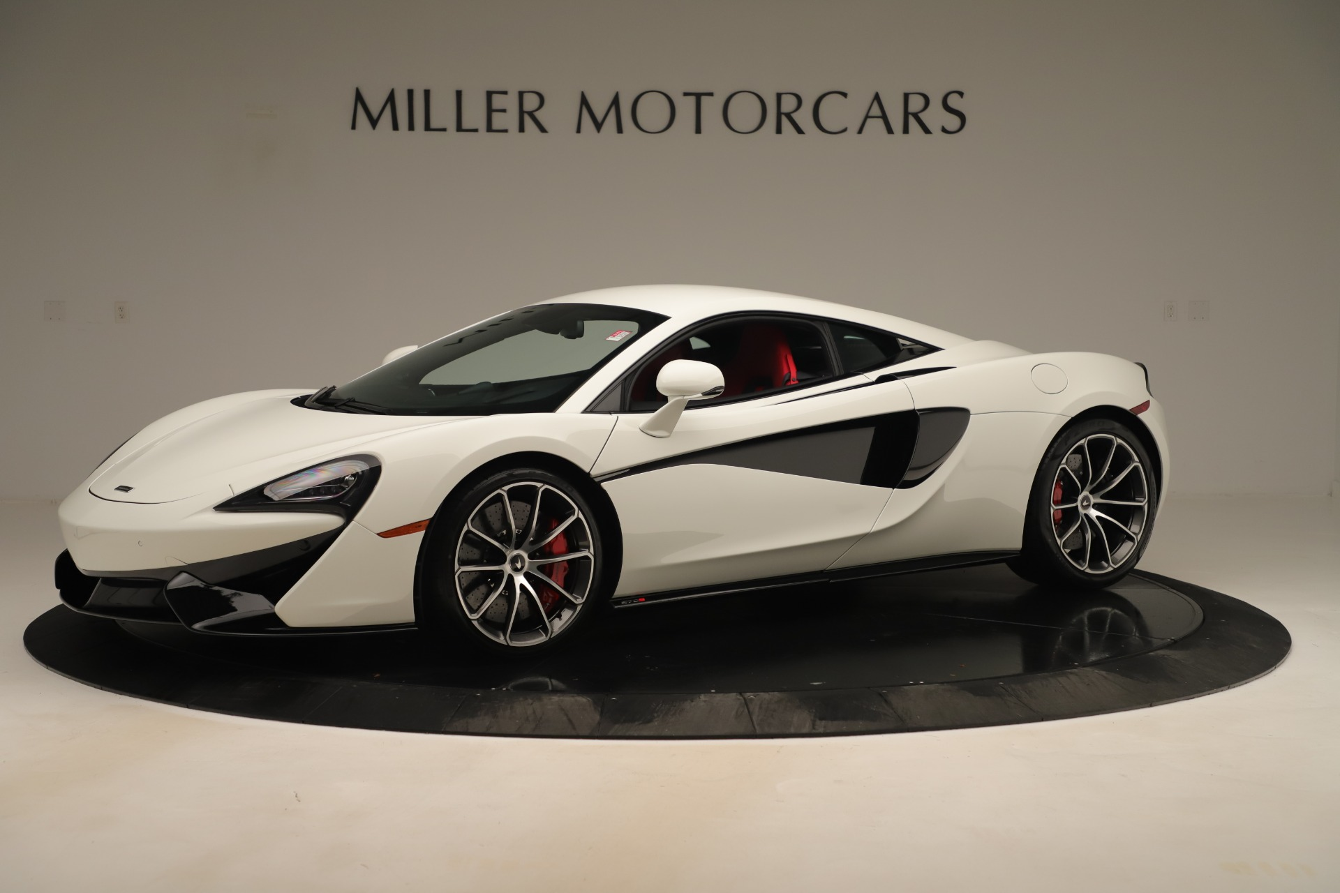 New 2020 McLaren 570S Coupe for sale $215,600 at Bentley Greenwich in Greenwich CT 06830 1