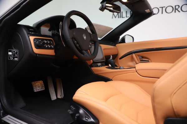 New 2019 Maserati GranTurismo MC Convertible for sale Sold at Bentley Greenwich in Greenwich CT 06830 20
