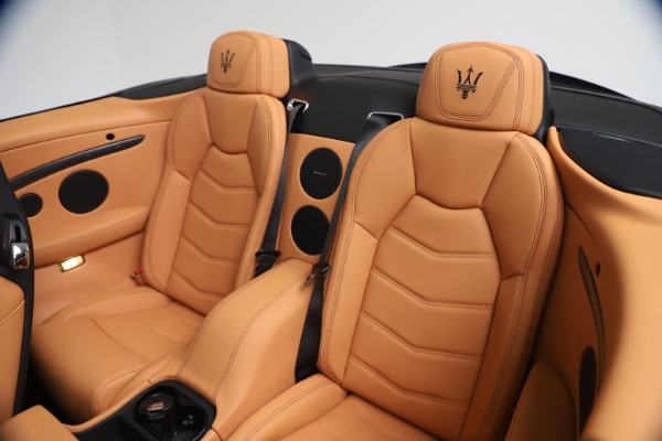 New 2019 Maserati GranTurismo MC Convertible for sale Sold at Bentley Greenwich in Greenwich CT 06830 24