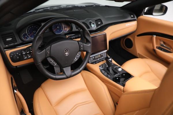 New 2019 Maserati GranTurismo Sport Convertible for sale $164,075 at Bentley Greenwich in Greenwich CT 06830 19
