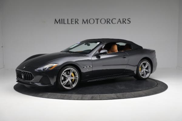 New 2019 Maserati GranTurismo Sport Convertible for sale $164,075 at Bentley Greenwich in Greenwich CT 06830 2