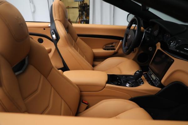 New 2019 Maserati GranTurismo Sport Convertible for sale $164,075 at Bentley Greenwich in Greenwich CT 06830 21