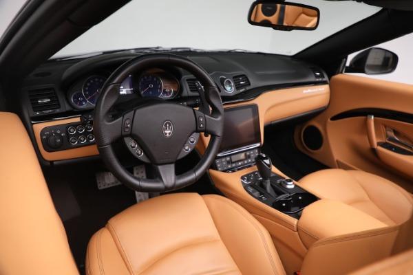 New 2019 Maserati GranTurismo Sport Convertible for sale $164,075 at Bentley Greenwich in Greenwich CT 06830 24