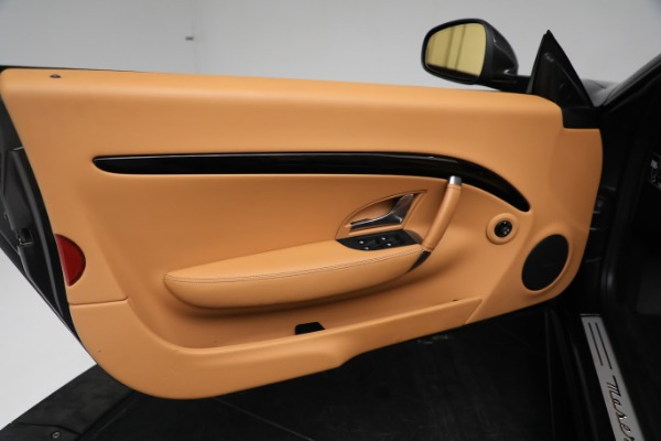 New 2019 Maserati GranTurismo Sport Convertible for sale $164,075 at Bentley Greenwich in Greenwich CT 06830 25