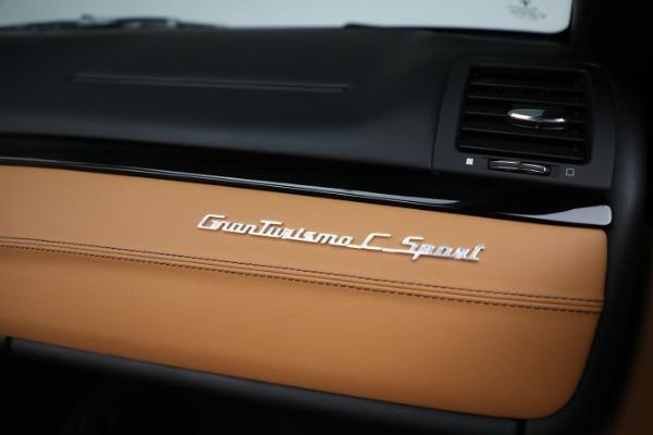 New 2019 Maserati GranTurismo Sport Convertible for sale $164,075 at Bentley Greenwich in Greenwich CT 06830 26