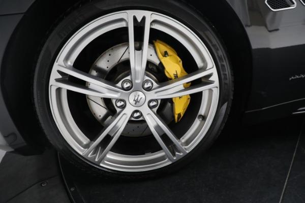 New 2019 Maserati GranTurismo Sport Convertible for sale $164,075 at Bentley Greenwich in Greenwich CT 06830 27