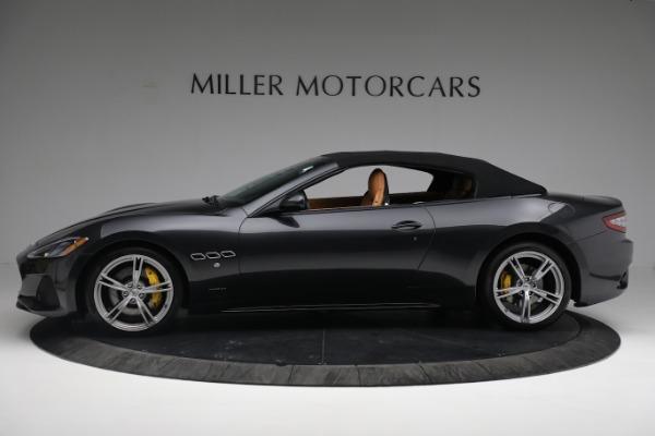 New 2019 Maserati GranTurismo Sport Convertible for sale $164,075 at Bentley Greenwich in Greenwich CT 06830 3