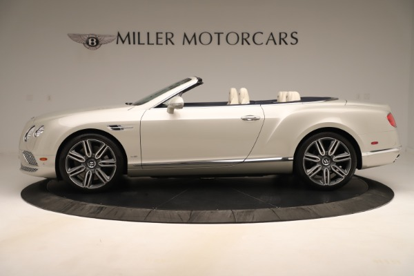 Used 2016 Bentley Continental GTC W12 for sale $139,900 at Bentley Greenwich in Greenwich CT 06830 3