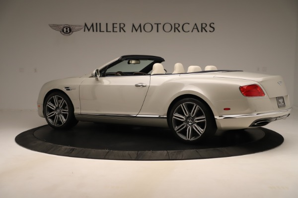 Used 2016 Bentley Continental GTC W12 for sale $139,900 at Bentley Greenwich in Greenwich CT 06830 4