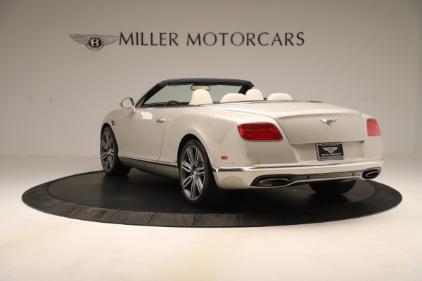 Used 2016 Bentley Continental GTC W12 for sale $139,900 at Bentley Greenwich in Greenwich CT 06830 5