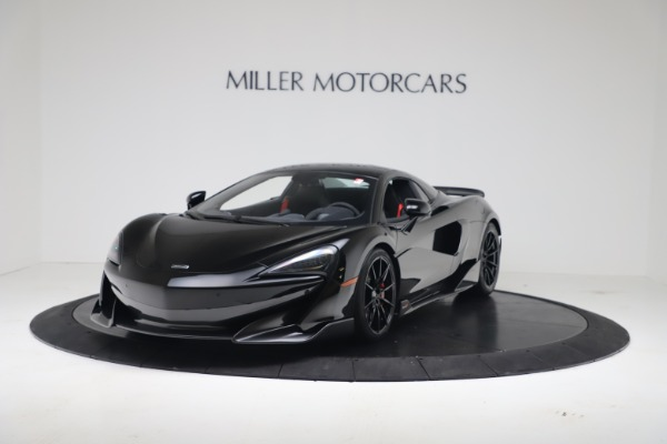 Used 2020 McLaren 600LT Spider for sale $249,900 at Bentley Greenwich in Greenwich CT 06830 11