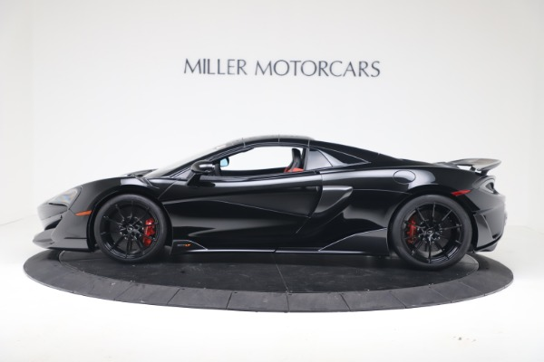 Used 2020 McLaren 600LT Spider for sale $249,900 at Bentley Greenwich in Greenwich CT 06830 12