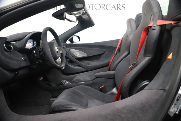 Used 2020 McLaren 600LT Spider for sale $249,900 at Bentley Greenwich in Greenwich CT 06830 19