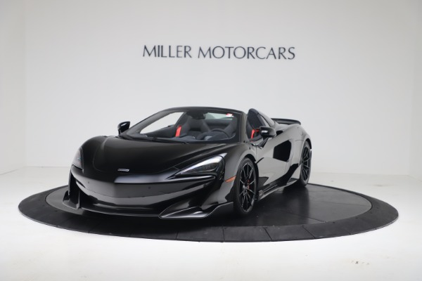 Used 2020 McLaren 600LT Spider for sale $249,900 at Bentley Greenwich in Greenwich CT 06830 2