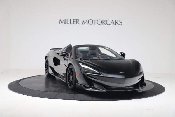 Used 2020 McLaren 600LT Spider for sale $249,900 at Bentley Greenwich in Greenwich CT 06830 4