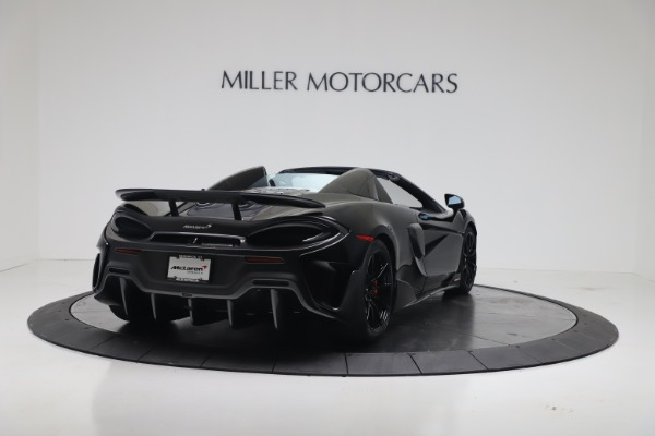 Used 2020 McLaren 600LT Spider for sale $249,900 at Bentley Greenwich in Greenwich CT 06830 8