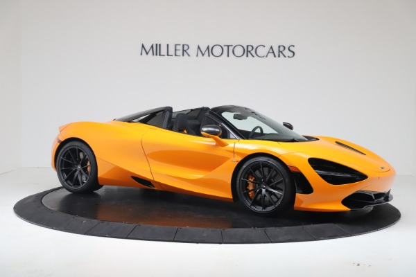 New 2020 McLaren 720S Spider Convertible for sale $374,440 at Bentley Greenwich in Greenwich CT 06830 10