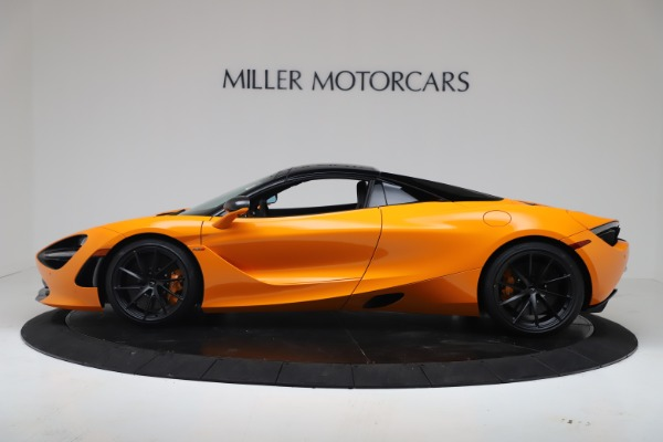 New 2020 McLaren 720S Spider Convertible for sale $374,440 at Bentley Greenwich in Greenwich CT 06830 15