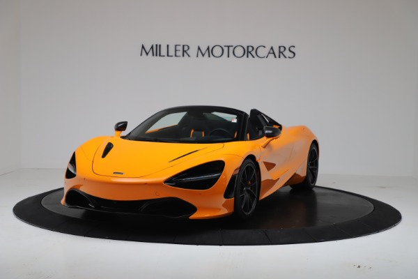 New 2020 McLaren 720S Spider Convertible for sale $374,440 at Bentley Greenwich in Greenwich CT 06830 2