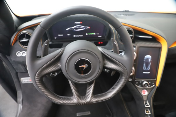 New 2020 McLaren 720S Spider Convertible for sale $374,440 at Bentley Greenwich in Greenwich CT 06830 24