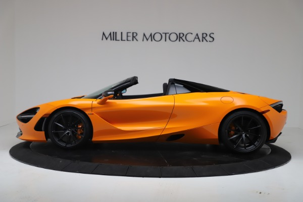 New 2020 McLaren 720S Spider Convertible for sale $374,440 at Bentley Greenwich in Greenwich CT 06830 3