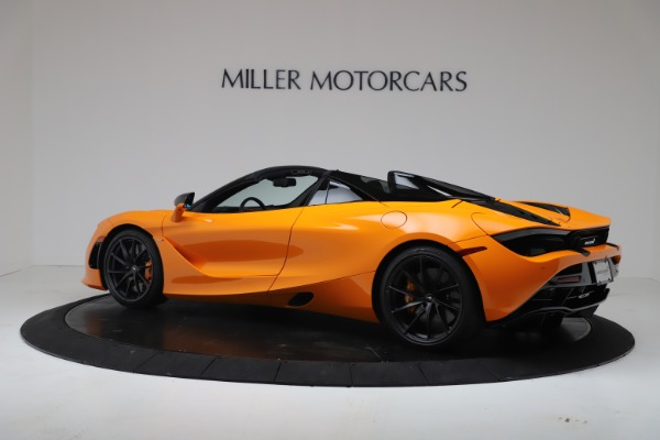 New 2020 McLaren 720S Spider Convertible for sale $374,440 at Bentley Greenwich in Greenwich CT 06830 4
