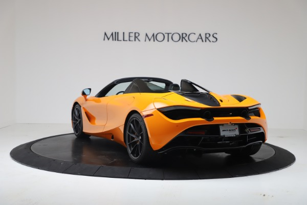 New 2020 McLaren 720S Spider Convertible for sale $374,440 at Bentley Greenwich in Greenwich CT 06830 5