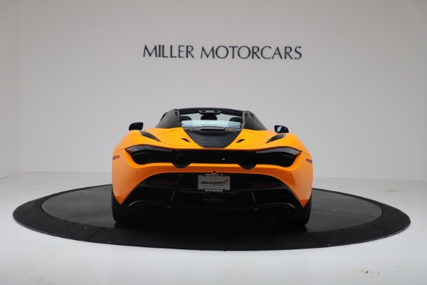 New 2020 McLaren 720S Spider Convertible for sale $374,440 at Bentley Greenwich in Greenwich CT 06830 6