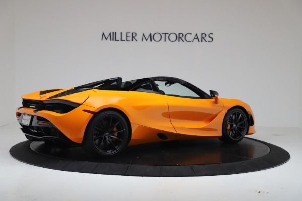 New 2020 McLaren 720S Spider Convertible for sale $374,440 at Bentley Greenwich in Greenwich CT 06830 8