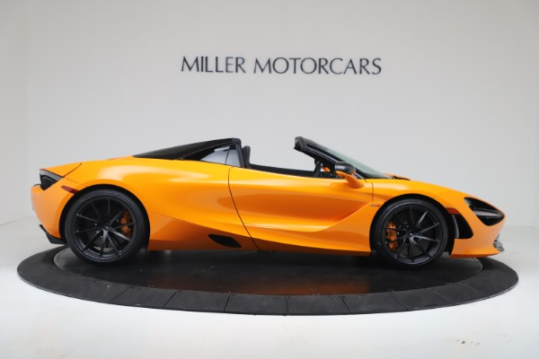 New 2020 McLaren 720S Spider Convertible for sale $374,440 at Bentley Greenwich in Greenwich CT 06830 9