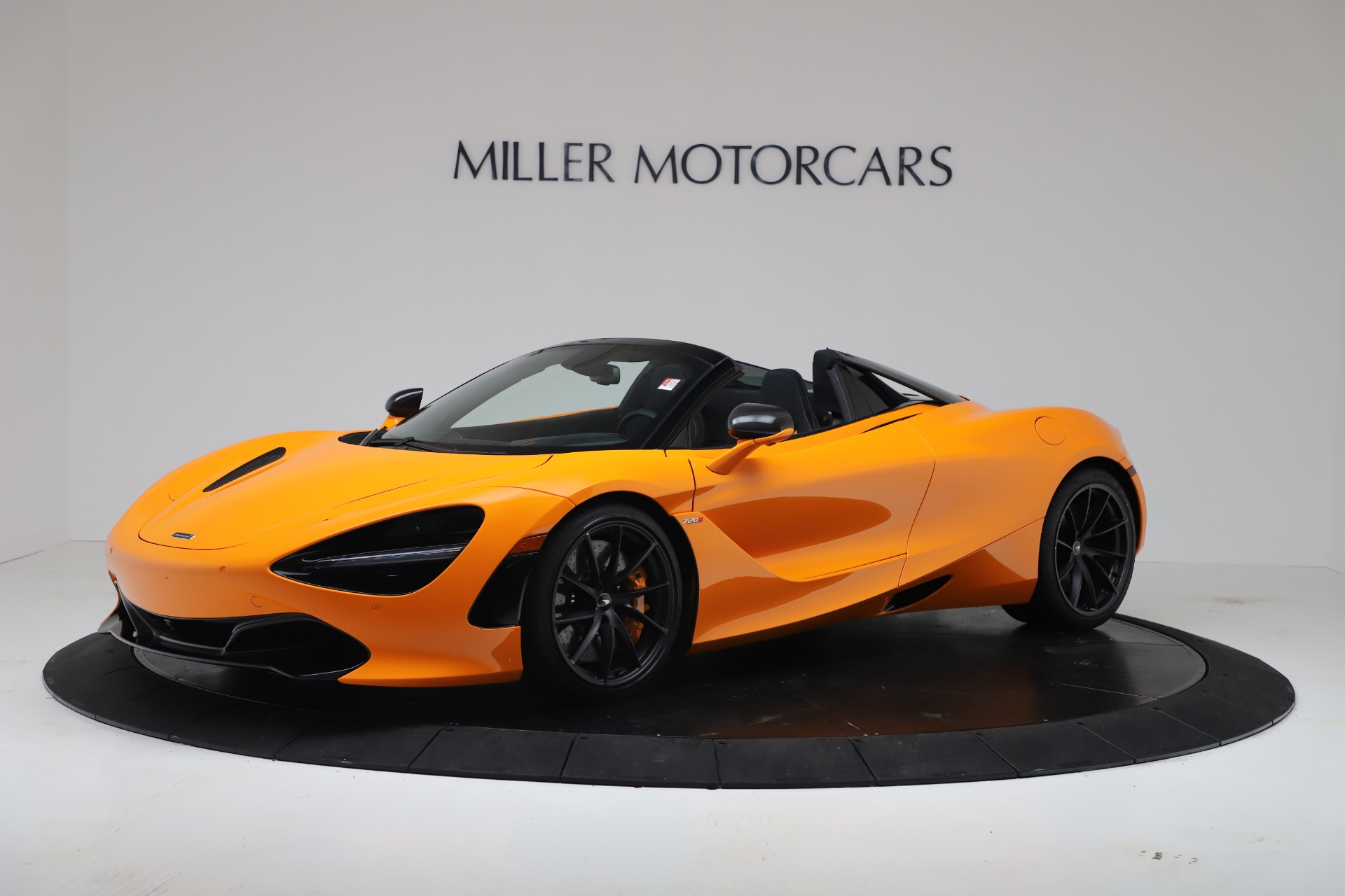 New 2020 McLaren 720S Spider Convertible for sale $374,440 at Bentley Greenwich in Greenwich CT 06830 1