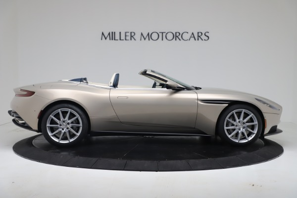 New 2020 Aston Martin DB11 Volante Convertible for sale $255,556 at Bentley Greenwich in Greenwich CT 06830 12