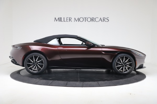 Used 2020 Aston Martin DB11 Volante Convertible for sale Sold at Bentley Greenwich in Greenwich CT 06830 17