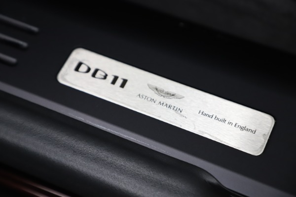 Used 2020 Aston Martin DB11 Volante Convertible for sale Sold at Bentley Greenwich in Greenwich CT 06830 26