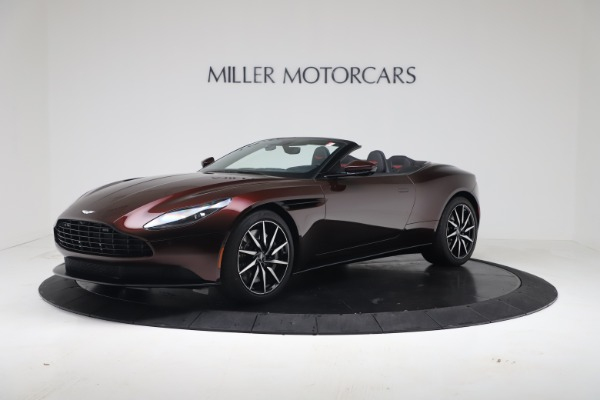 Used 2020 Aston Martin DB11 Volante Convertible for sale Sold at Bentley Greenwich in Greenwich CT 06830 1