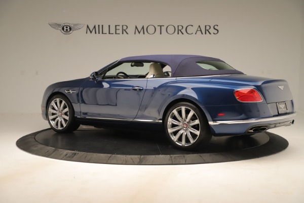 Used 2017 Bentley Continental GTC V8 for sale $149,900 at Bentley Greenwich in Greenwich CT 06830 15