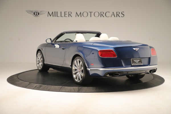 Used 2017 Bentley Continental GTC V8 for sale $149,900 at Bentley Greenwich in Greenwich CT 06830 5