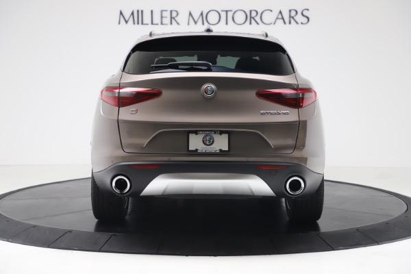 New 2019 Alfa Romeo Stelvio Ti Sport Q4 for sale Sold at Bentley Greenwich in Greenwich CT 06830 6