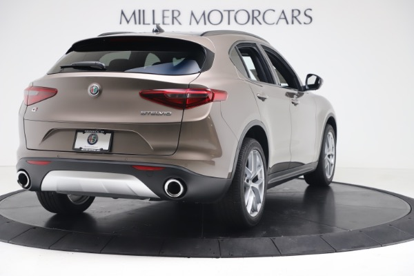 New 2019 Alfa Romeo Stelvio Ti Sport Q4 for sale Sold at Bentley Greenwich in Greenwich CT 06830 7
