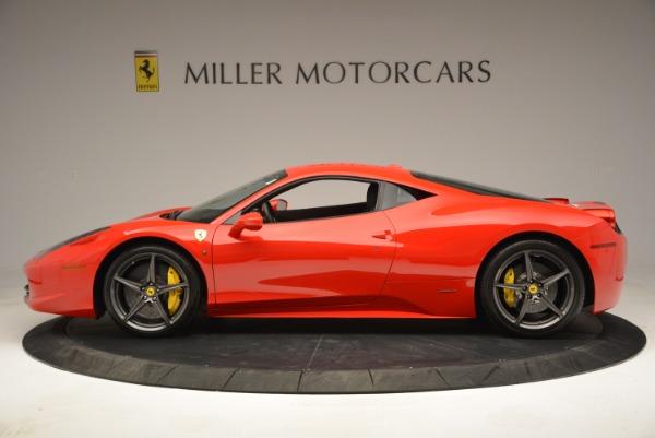 Used 2013 Ferrari 458 Italia for sale Sold at Bentley Greenwich in Greenwich CT 06830 3
